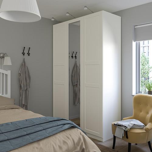 PAX/TYSSEDAL - wardrobe combination, white/mirror glass   IKEA Hong Kong and Macau - PE760011_S4