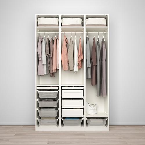 PAX/TYSSEDAL - wardrobe combination, white/mirror glass   IKEA Hong Kong and Macau - PE760015_S4