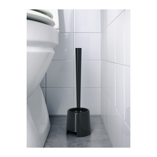 BOLMEN - 廁所刷連座, 黑色   IKEA 香港及澳門 - PE555432_S4