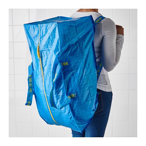 FRAKTA - 手拉車用購物袋, 藍色   IKEA 香港及澳門 - PE619024_S4