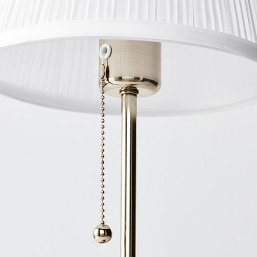 ÅRSTID - 座檯燈, 鍍鎳/白色 | IKEA 香港及澳門 - PE614456_S4
