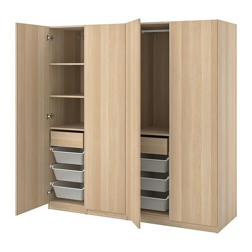 PAX/FORSAND - 衣櫃組合, 染白橡木紋 | IKEA 香港及澳門 - PE815042_S4