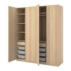 PAX/FORSAND - 衣櫃組合, 染白橡木紋 | IKEA 香港及澳門 - PE815041_S3