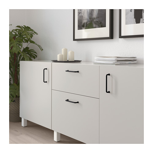 BAGGANÄS - handle, black | IKEA Hong Kong and Macau - PE719923_S4