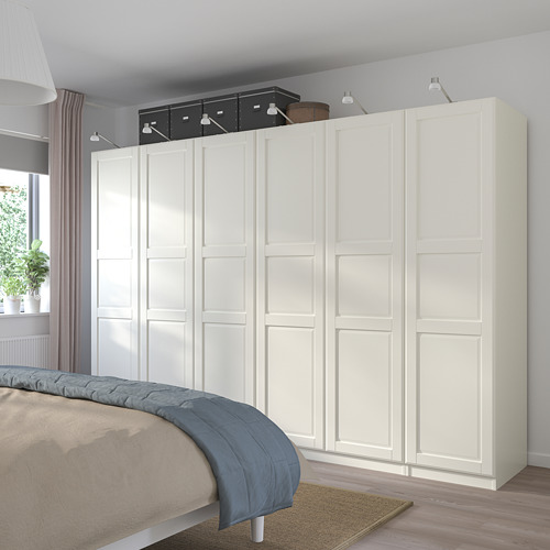 PAX/TYSSEDAL - wardrobe combination, white/white | IKEA Hong Kong and Macau - PE760170_S4