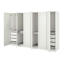 PAX/TYSSEDAL - wardrobe combination, white/white   IKEA Hong Kong and Macau - PE760172_S3