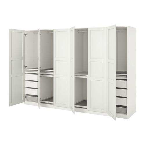 PAX/TYSSEDAL - wardrobe combination, white/white | IKEA Hong Kong and Macau - PE760172_S4