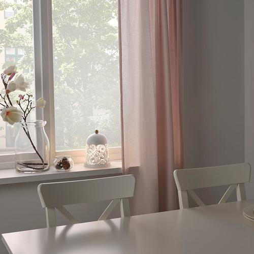 SOLSKUR - LED座檯燈, 白色/黃銅色   IKEA 香港及澳門 - PE760179_S4