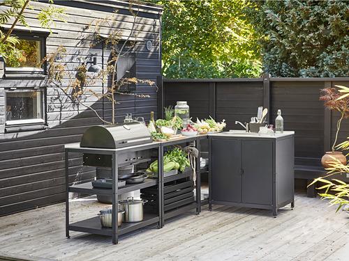 GRILLSKÄR - 廚房星盆/燒烤炭爐,戶外用, 不銹鋼 | IKEA 香港及澳門 - PE815050_S4