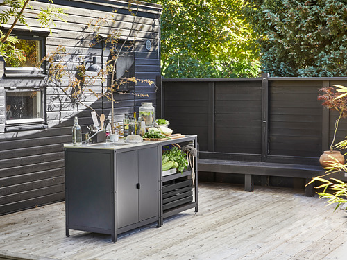 GRILLSKÄR - kitchen sink unit/cabinet, outdoor, stainless steel | IKEA Hong Kong and Macau - PE815058_S4