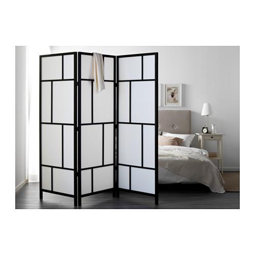 RISÖR - 屏風, 白色/黑色 | IKEA 香港及澳門 - PE555584_S4