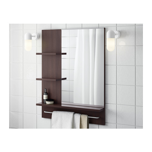 LILLÅNGEN - mirror, black-brown | IKEA Hong Kong and Macau - PE555586_S4