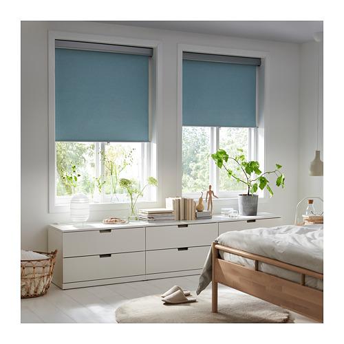 TRETUR - 遮光捲軸簾, 120x195cm, 淺藍色   IKEA 香港及澳門 - PE719962_S4