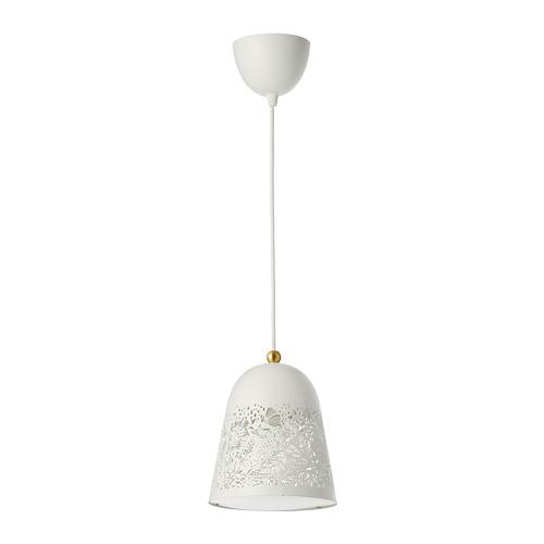 SOLSKUR - pendant lamp, white/brass-colour | IKEA Hong Kong and Macau - PE760188_S4