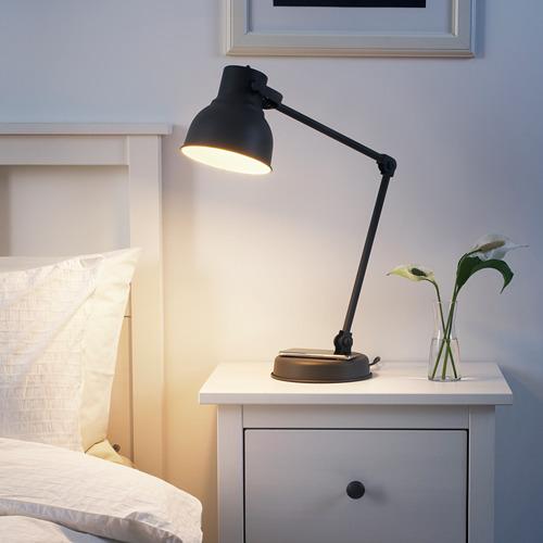 HEKTAR - 工作燈連無線充電座, 深灰色   IKEA 香港及澳門 - PE711192_S4