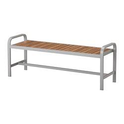 SJÄLLAND - 戶外長凳, 淺灰色/淺褐色   IKEA 香港及澳門 - PE670217_S3