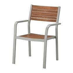SJÄLLAND - 戶外扶手椅, 淺灰色/淺褐色 | IKEA 香港及澳門 - PE670218_S3