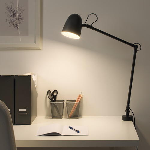 SKURUP - 工作燈/壁燈, 黑色   IKEA 香港及澳門 - PE700372_S4