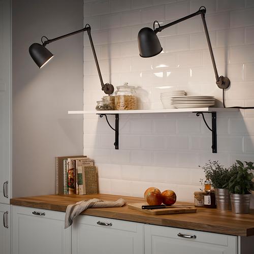 SKURUP - 工作燈/壁燈, 黑色   IKEA 香港及澳門 - PE700374_S4