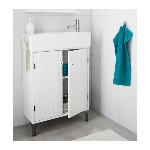 SILVERÅN wash-basin cabinet with 2 doors