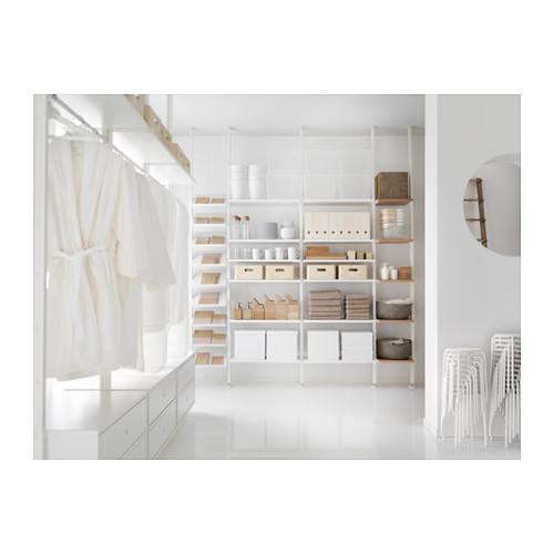 ELVARLI - 4 sections, white/bamboo | IKEA Hong Kong and Macau - PH137220_S4