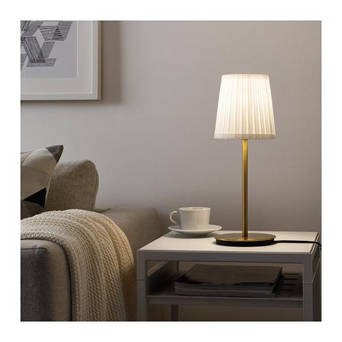 SKAFTET - 座檯燈座, 黃銅色   IKEA 香港及澳門 - PE720018_S4