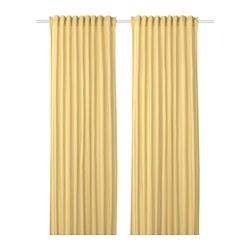 ANNALOUISA - 窗簾,一對, 淺黃色 | IKEA 香港及澳門 - PE720023_S3