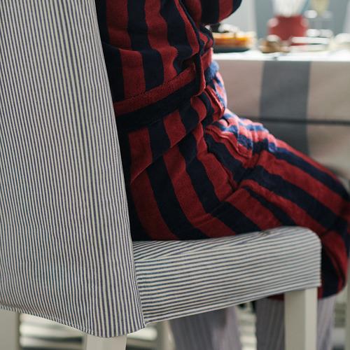 BERGMUND - chair, white/Rommele dark blue/white | IKEA Hong Kong and Macau - PH176292_S4