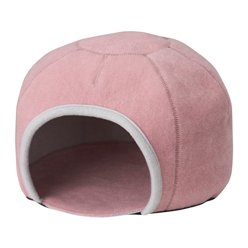 LURVIG - 圓頂貓屋, 淺灰色/粉紅色 | IKEA 香港及澳門 - PE760499_S4