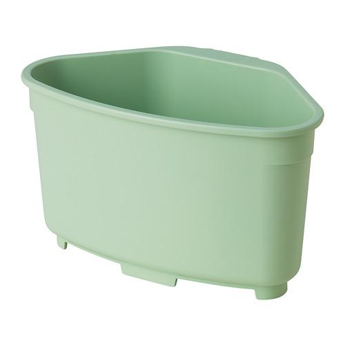 BEFLITA - sink container/colander, green | IKEA 香港及澳門 - PE815238_S4