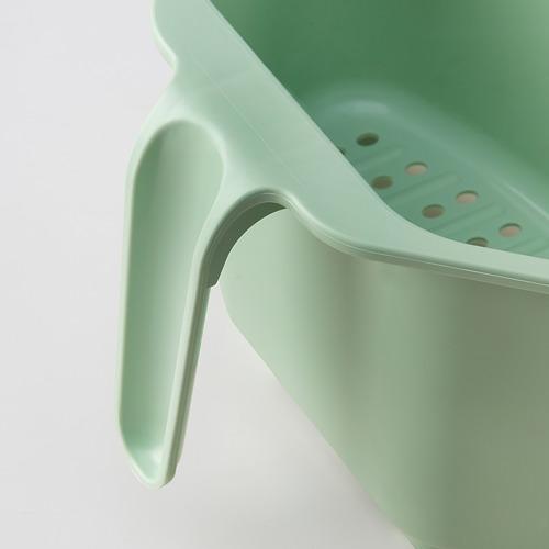 BEFLITA - sink container/colander, green | IKEA 香港及澳門 - PE815239_S4