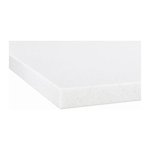 LAXNE - 訂造檯面, 白色/黑色 仿礦石紋/亞加力膠 | IKEA 香港及澳門 - PE670329_S4