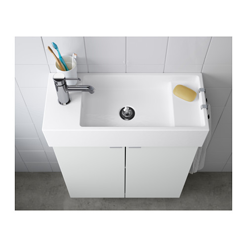 LILLÅNGEN - 單盆洗手盆, 白色   IKEA 香港及澳門 - PE556067_S4