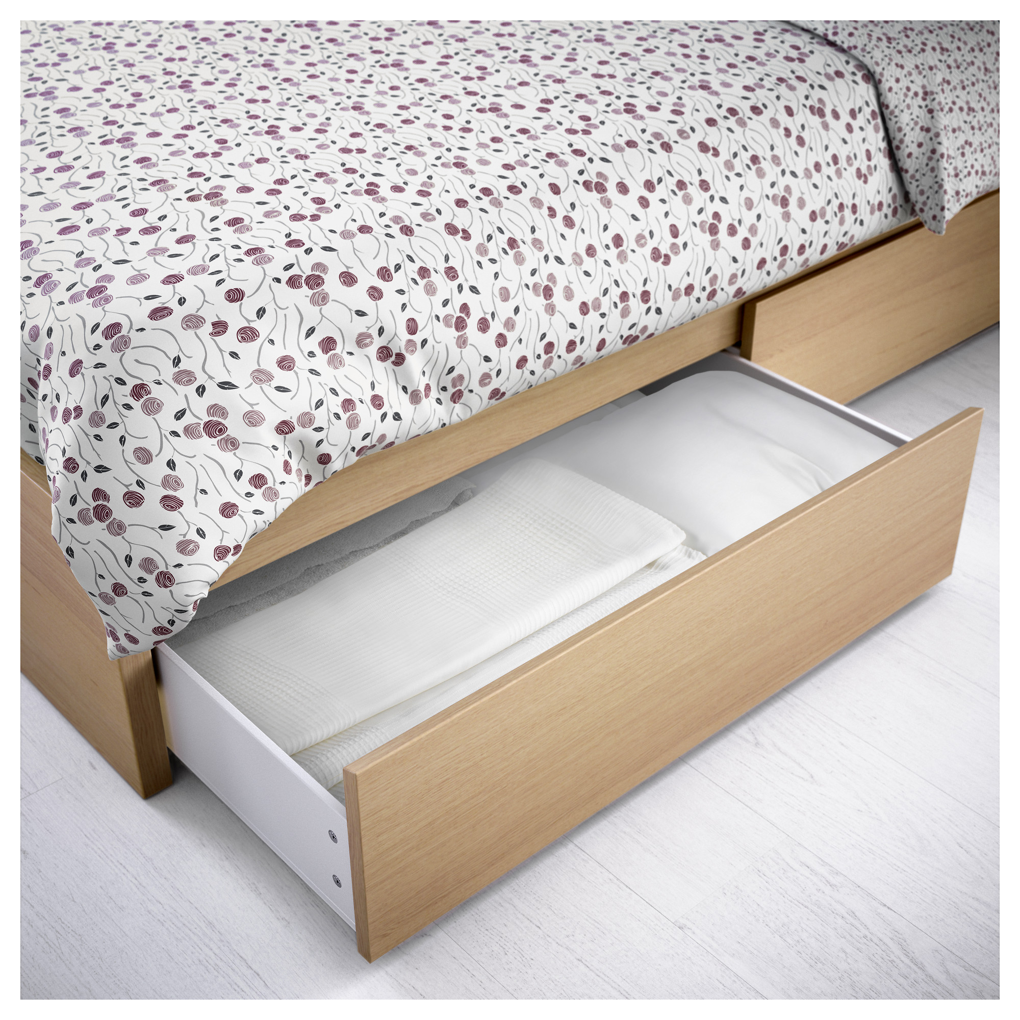 Malm Bed Storage Box For High Frame Queen King Ikea