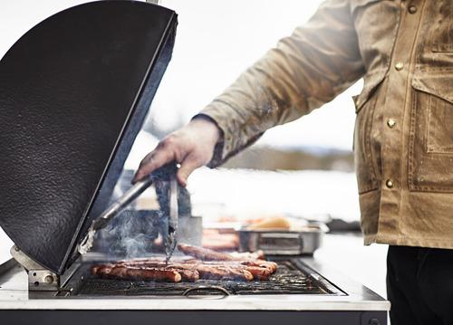 GRILLSKÄR - 燒烤炭爐連貯物櫃, 黑色/不銹鋼 戶外 | IKEA 香港及澳門 - PE815342_S4