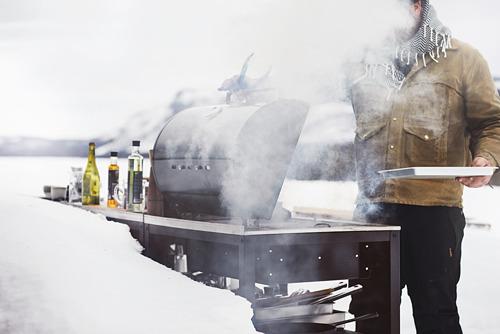 GRILLSKÄR - 燒烤炭爐連貯物櫃, 黑色/不銹鋼 戶外 | IKEA 香港及澳門 - PE815344_S4