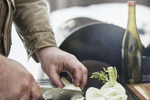 GRILLSKÄR - 燒烤炭爐連貯物櫃, 黑色/不銹鋼 戶外 | IKEA 香港及澳門 - PE815353_S4