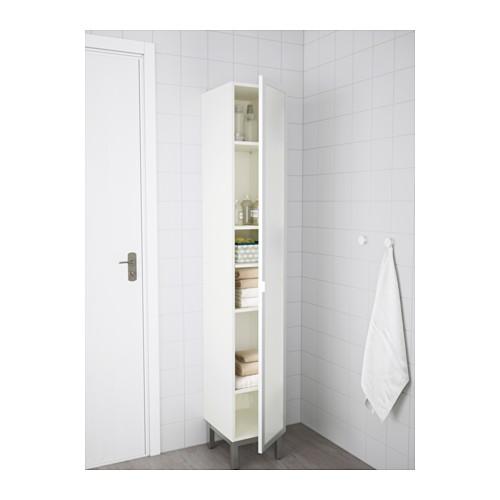 LILLÅNGEN - high cabinet, white/aluminium   IKEA Hong Kong and Macau - PE556203_S4