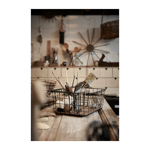 PLEJA - wire basket with handle, black | IKEA Hong Kong and Macau - PH151908_S4