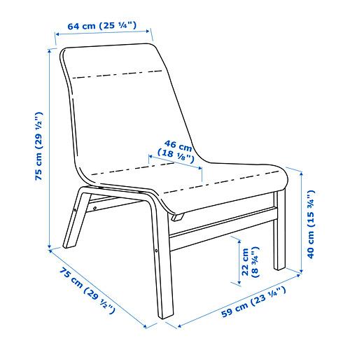 NOLMYRA - 舒適椅, 黑色/黑色 | IKEA 香港及澳門 - PE720192_S4