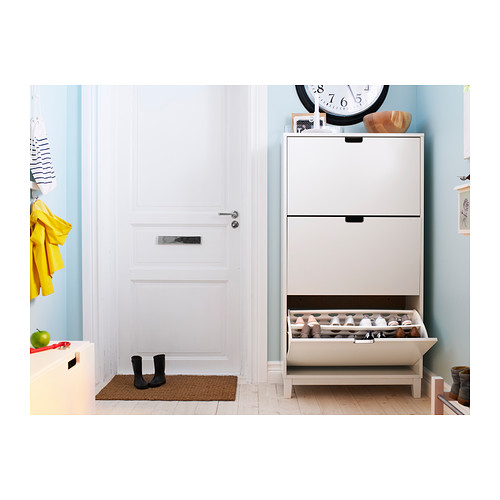 STÄLL - shoe cabinet with 3 compartments, white   IKEA Hong Kong and Macau - PE291275_S4