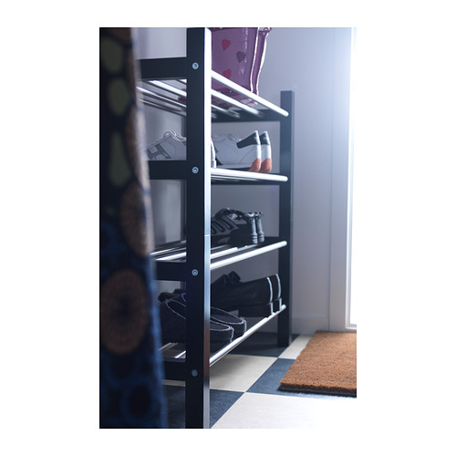 TJUSIG - shoe rack, black   IKEA Hong Kong and Macau - PE237195_S4