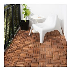 RUNNEN - floor decking, outdoor, brown stained | IKEA Hong Kong and Macau - PE619791_S3