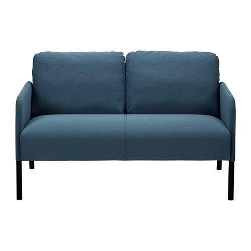 GLOSTAD - 2-seat sofa, Knisa medium blue   IKEA Hong Kong and Macau - PE815495_S4