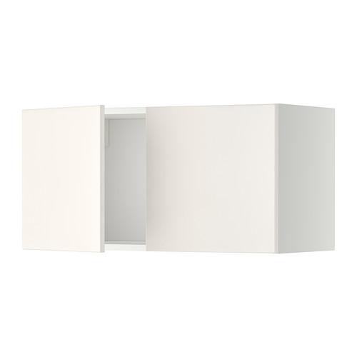 METOD - wall cabinet with 2 doors, white/Veddinge white | IKEA Hong Kong and Macau - PE332466_S4