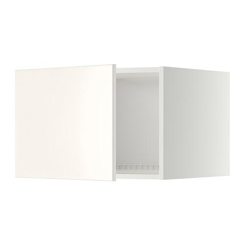 METOD - top cabinet for fridge/freezer, white/Veddinge white | IKEA Hong Kong and Macau - PE332478_S4
