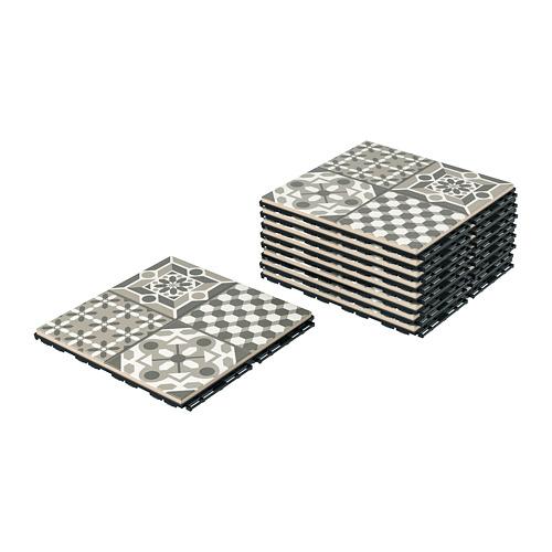 MÄLLSTEN - 戶外地板, 灰色/白色 | IKEA 香港及澳門 - PE760964_S4