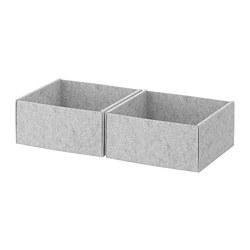 KOMPLEMENT - 貯物箱, 淺灰色 | IKEA 香港及澳門 - PE670679_S3