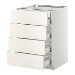 METOD - base cb 4 frnts/2 low/3 md drwrs, white Maximera/Veddinge white | IKEA Hong Kong and Macau - PE332828_S3