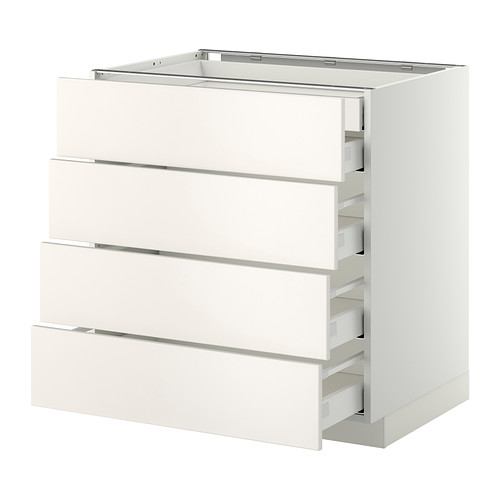 METOD - base cb 4 frnts/2 low/3 md drwrs, white Maximera/Veddinge white | IKEA Hong Kong and Macau - PE332829_S4